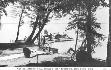 View of Lake Shore at Schule's Camp Bowstring.